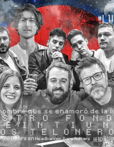 #luna338 - Astro Fonda / Veintiuno / Los Teloneros