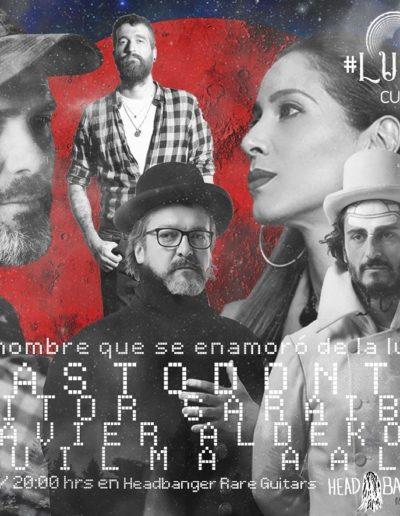 #luna337 - Mastodonte / Aitor Saraiba / Xavier Aldekoa / Suilma Aali