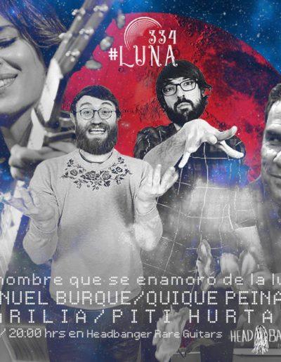 #luna334 - Manuel Burque / Quique Peinado / Marilia / Pitu Hurtado