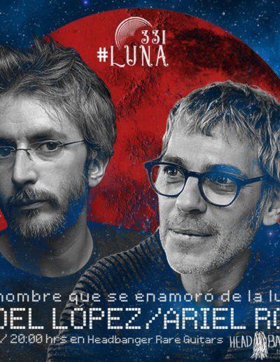 #luna331 - Xoel López / Ariel Rot