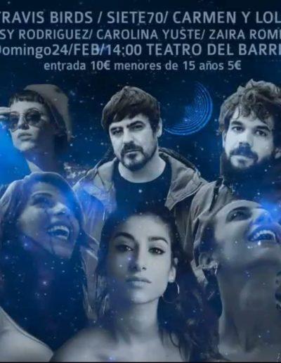 Travis Birds / Siete70 / Carmen y Lola / Rosy Rodriguez / Carolina Yuste / Zaira Romero