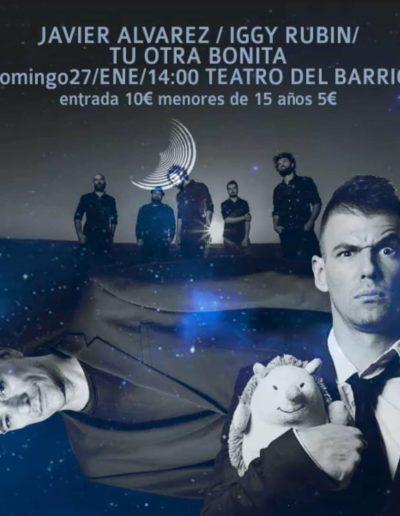 Javier Álvarez / Iggy Rubin / Tu Otra Bonita