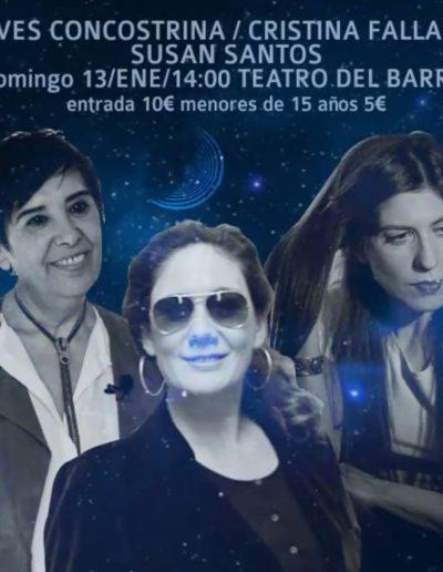 Nieves Concostrina / Cristina Fallarás / Susan Santos
