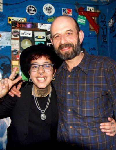 Josele Santiago y Nora Norman