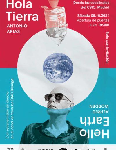 Hola Tierra - Antonio Arias